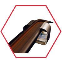 Lámpara de esterilización UVC LED para pasamanos de escaleras eléctricas