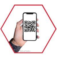 Llamada de cabina usando código QR en celular